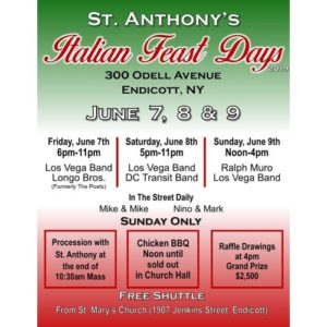 St. Anthony's Italian Feast Days kicking off
