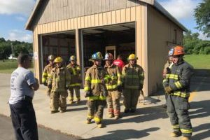 Young firefighters learn from the experts at FASNY's Youth Day