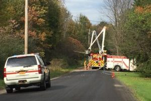 Vestal car crash causes road closures and fire, smoke seen for miles