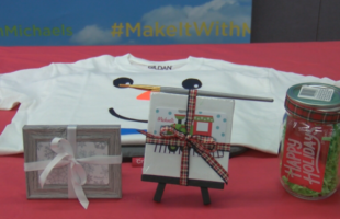 Do-It-Yourself holiday gifts, Michaels employee shows us how