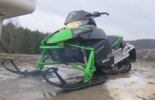 Snowmobile safety tips after man falls through local frozen pond