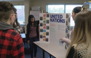 New Visions Law and Government students prepare for International Fair