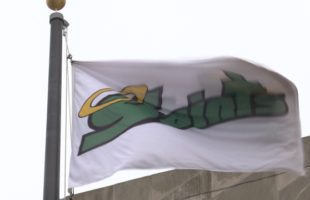 Flag-raising at Binghamton City Hall marks Catholic Schools Week