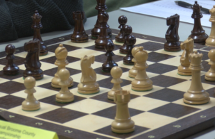 A Game of Concentration: 11th annual chess competition emphasizes focus