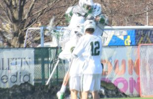 Binghamton lacrosse splits afternoon games