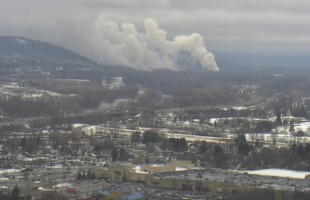 Crews respond to fire in Vestal, smoke visible for miles