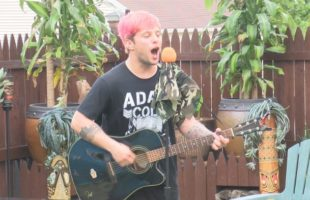 Performing on patios: Musician brings concert to you