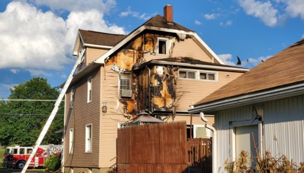 Smoke, water damage makes Beethoven Street house uninhabitable